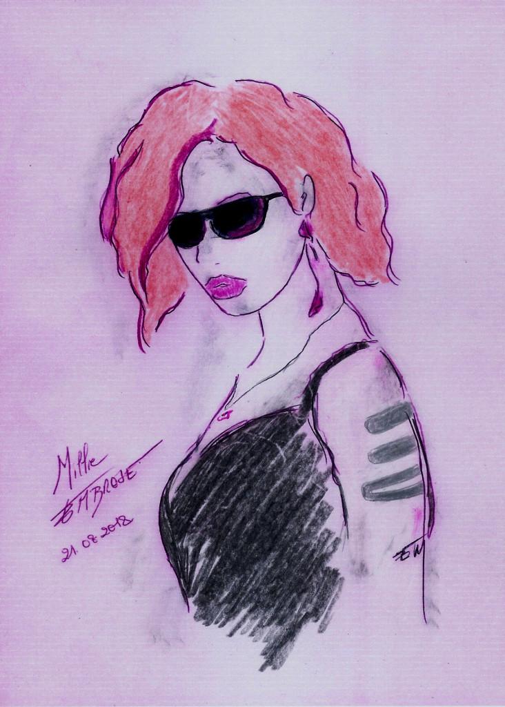 Millie Embrose - portrait Flash