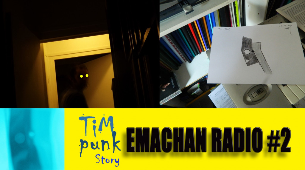 Emachan radio#2 - Tim Punk story (blue)