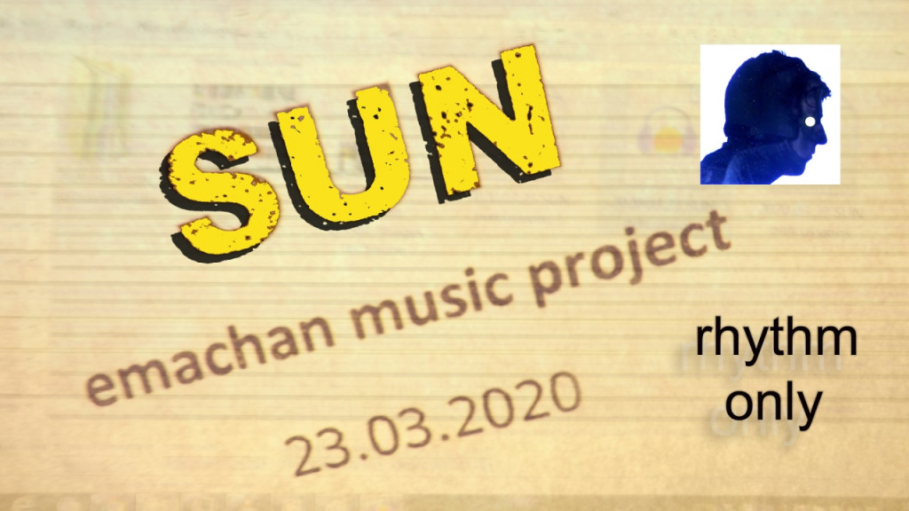 SUN - emachan music (rhythm-only6)