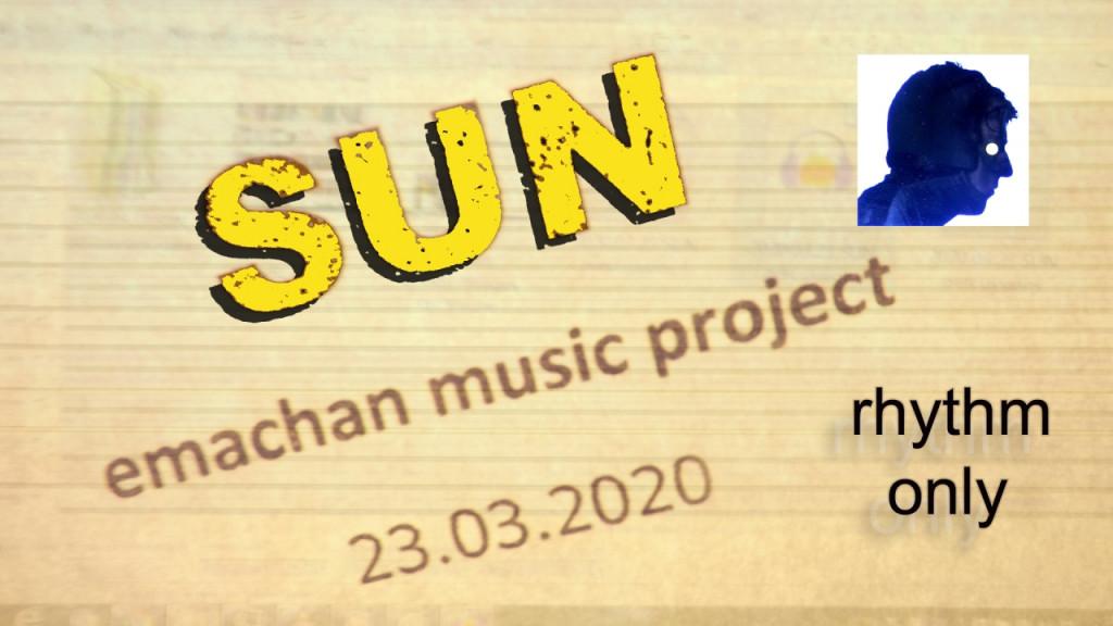 SUN - emachan music (rhythm-only6)