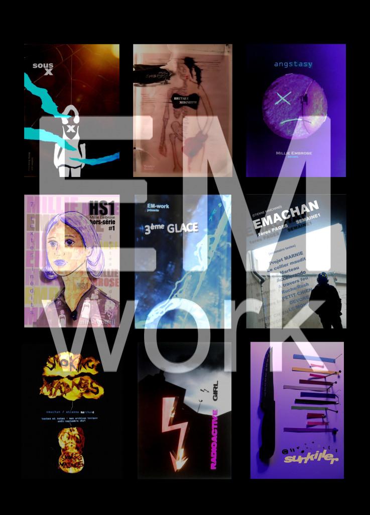 EM-work  signature+ couvertures sélection 5
